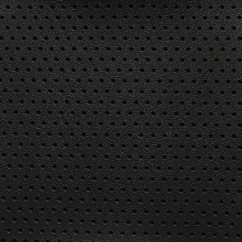 VLD-33 Denali Economy Vinyl Black Perforated