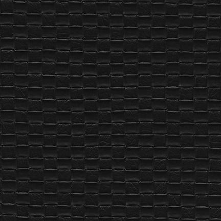 Nuvtex Berretta Basket Weave Vinyl Black