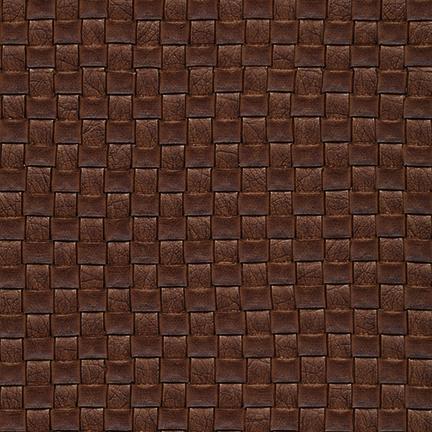 Nuvtex Berretta Basket Weave Vinyl Chocolate