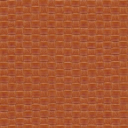 Nuvtex Berretta Basket Weave Vinyl Orange
