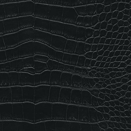 Nuvtex Croco Vinyl Black
