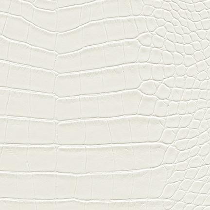 Nuvtex Croco Vinyl White