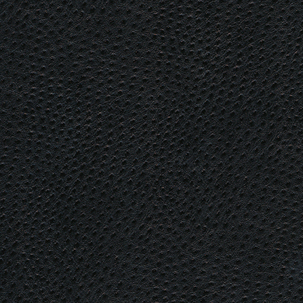 Skintex Ostrich Contract Vinyl Onyx