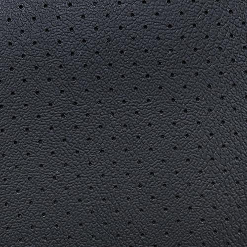 VLST-15P Corinthian Perforated Automotive Vinyl Ebony