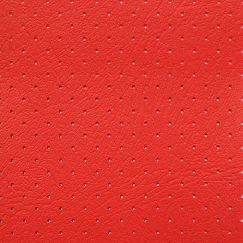 VLST-08P Monticello Perforated Automotive Vinyl Red