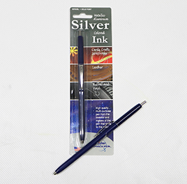Silver Ink Space Pens